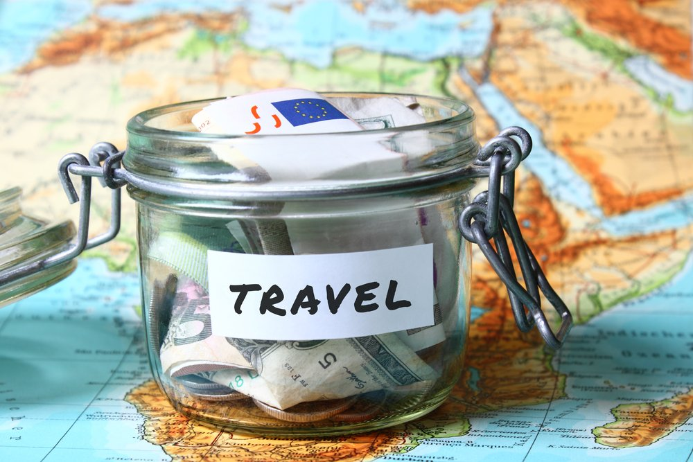 Image result for saving travel money